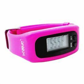Relógio Pedômetro Rosa Liveup LS3348R