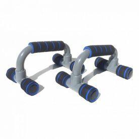 Apoio para Flexão de Braço Simples - Azul Liveup