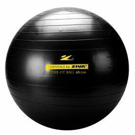 Bola de Pilates 45 cm Preta Ziva