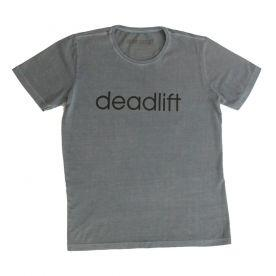 Camiseta Deadlift Estonada - Azul e Preto