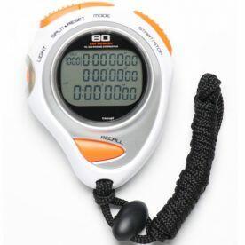 Cronometro Profissional c/ 80 de Memória, Relógio, Alarme Liveup