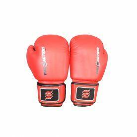Luva Proaction de Boxe e Muai Thai Pro – Vermelho – 14OZ
