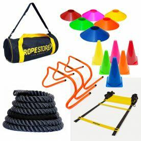 Kit  Personal Trainer 1 Com 6 Itens Rope Store