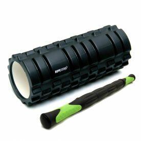 Kit Miofacial Rolo de Massagem e Bastão Stick Preto x Verde Rope Store