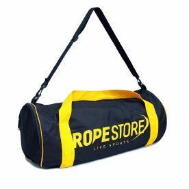 Bolsa Multifuncional Esportiva Rope Store Preta e Amarelo