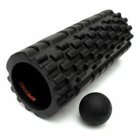 Kit Rolo de Massagem com ranhuras + Lacrosse Ball Rope Store