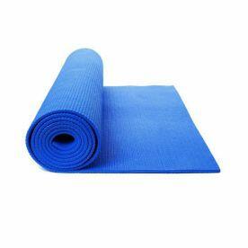 Tapete para Yoga, Pilates em EVA Impermeável - Azul  Liveup