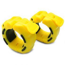 Presilha para Barra Olímpica 2 polegadas Amarelo x Preto