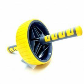 Roda De Exercício Amarela Liveup
