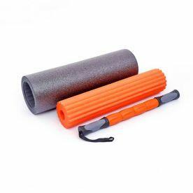 Rolo de Massagem Foam Roller 3 em 1 Rope Store