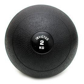 Bola Slam Ball 2kg Preta Invictus Fitness