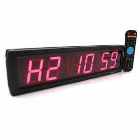 Timer Led Cronômetro 6 Dígitos com Controle Remoto